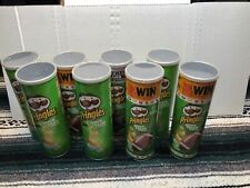Lot of 8 Empty Pringles Cans Containers. Arts Craft Storage. Diy Projects. Reuse