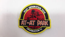 """Star Wars Celebration VI- At-At Park Past Generation Toy 3.5"""" Patch (SWPA-C-605)"""