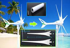"Apollo Wind Turbine Generator Upgrade Kit 18 cm Tail Extension + 6x 29"" Blades"