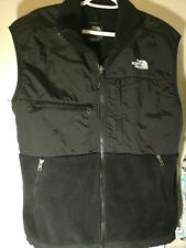 North Face Denali Fleece Vest Men's Medium Black Polartec