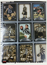 "COLLINGWOOD FOOTBALL CLUB INAUGURAL HALL OF FAME"" Card Set (110)-RARE"