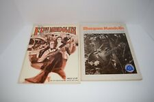 New ListingLot of 2 Vintage Mandolin Music Song Books: Bluegrass mandolin & Fun with the M