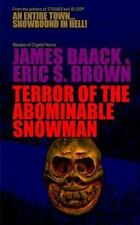 Terror of the Abominable Snowman by James Baack and Eric Brown (2014, Paperback)