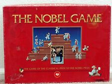 The Nobel Game find the Nobel Prize by Alga Board Game All ages  2001 Complete