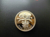 1989 PROOF ONE POUND COIN HOUSED IN A NEW CAPSULE. 1989 PROOF £1 PIECE CAPSULED.