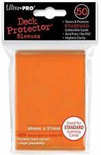 50 Bustine Protettive Ultra PRO Magic ORANGE Arancione Standard Sleeve Buste MTG