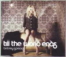 ★ MAXI CD Britney SPEARS Till the world ends 2-track Jewel case NEW SEALED ★