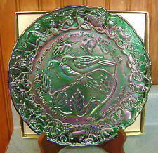 Imperial Twelve Days of Christmas - Two Turtle Doves Plate