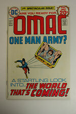 OMAC 1ST SPECTACULAR ISSUE # 1 OCTOBER 1974
