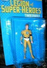 LEGION OF SUPER HEROES FIGURE TIMBERWOLF MINT ON CARD