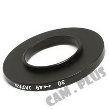 30-49mm Step-Up Metal Lens Adapter Filter Ring / 30mmto 49mm lens Accessory