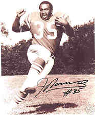 Jim Nance Boston Patriots Signed Photo 1969 COA