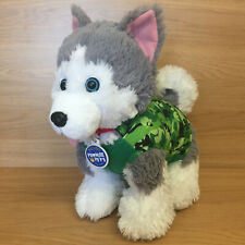 Build A Bear Workshop Promise Pets Husky Puppy Dog Plush Soft Toy With Outfit