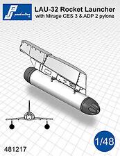 PJ Productions 1/48 LAU-32 Rockets Launcher with Pylon # 481217