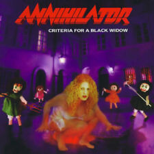 Annihilator  ‎– Criteria For A Black Widow CD NEW