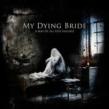 MY DYING BRIDE - A MAP OF ALL OUR FAILURES - 2LP VINYL NEW SEALED 2012