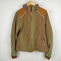 ~ Powderhorn ~ Men's Jacket ~ Ski / Mountaineering ~ Green & Brown ~ L Large ~