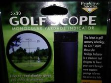 Golf Range Finder 8x20mm Mini Spotting Scope Monocular w/ Case