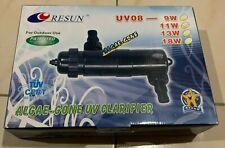 Resun UVC Sterilizer Ultra Violet Clarifier UV08-11W