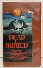 Dead And Buried (Betamax, 1981) Beta Tape Vestron Horror - James Farentino