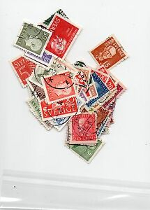 Selection of Stamps of Sweden