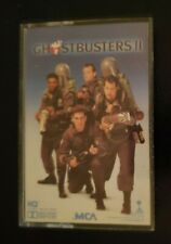 Cassette Ghostbusters II Movie Soundtrack