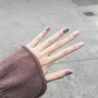 24Pcs/Set French Fake Nails Acrylic False Fashion Full Cover Nail Tips Art DIY