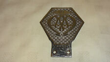Vintage Industrial / Commercial AA Badge With Shank - V144341 - 1930-1967