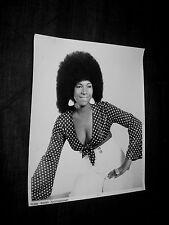 ORIGINAL 1970s BEVERLY FARRIS Publicity 8x10 CHITLIN CIRCUIT AUSTIN TONY VON