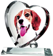 Personalized Paperweight Gift for her--- ViVi Photo Crystal  K 550