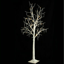 "RAZ IMPORTS 48"" LIGHTED ICICLE TREE WHITE CHRISTMAS NEW M3525552 WOW! 48 LEDS"