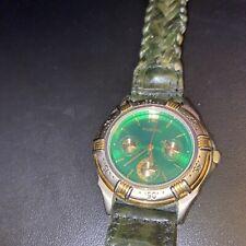 FOSSIL Mens vintage running watch water resistant BQ-8437 needs battery