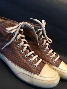 CANDICE COOPER Sneaker high Leder Gr. 39 Marrone