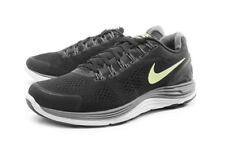 NEW Nike Lunarglide+ 4 Black/Grey/Volt Size 7.5 Running Shoes Nike Plus Ready