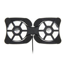 USB Cooling Fan Mini Cooler Pad Double Fans for 7-15 inch Notebook Laptop Gamer