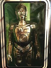 "Star Wars C-3PO 12"" Action Figure NIB Sealed Kenner Authentic Vintage 1977"