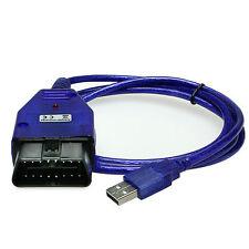 OBD 2  II Interface VAG KKL USB VW Audi Seat Skoda Fehler Diagnose Service V2014