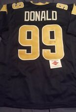 f09b8541a Aaron Donald Los Angeles Rams Autographed Jersey COA NFL Pro Bowl