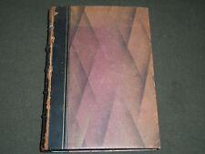 1913 LES MASQUES ET LES VISAGES BY ROBERT DE LA SIZERANNE BOOK 6TH EDN - II 3759