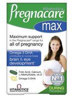 Vitabiotics Pregnacare Max Tablets Plus Capsules Omega - (84)
