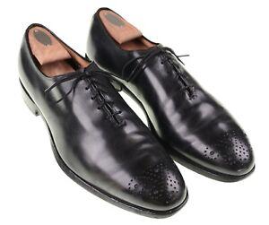 Allen Edmonds Berkley Black Leather Wholecut Oxford Dress Shoes 10 D