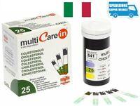 Strisce Colesterolo 25 x + 1 chip per Multicare-in - Strisce Reattive in Vitro