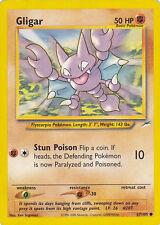 POKEMON GLIGAR CARD