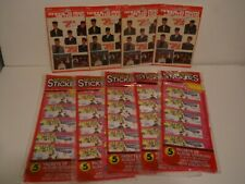 9 Packs Nos 1990 New Kids on the Block Stickers
