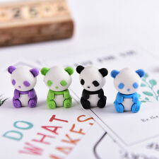 Panda Eraser Stationery School Office Supplies Correction Supplies Child's Gifts