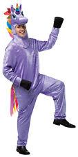 Unicorn Animal Adult Purple Costume Jumpsuit Halloween Dress Up Rasta Imposta