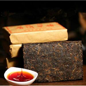 100g Ripe Pu-erh Tea Brick China Pu er Black Tea Puerh Tea Organic Ancient Trees