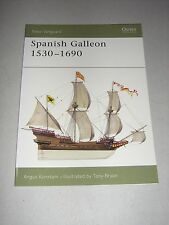New Vanguard: Spanish Galleon 1530-1690 96 by Angus Konstam (2004, Paperback)