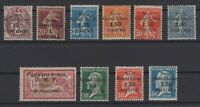 G139006/ FRENCH SYRIA – YEARS 1922 - 1923 MINT MNH / MH SEMI MODERN LOT – 110 $