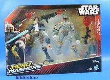 Hasbro Star Wars Hero Mashers / B3828 / Han Solo Vs. Boba Fett